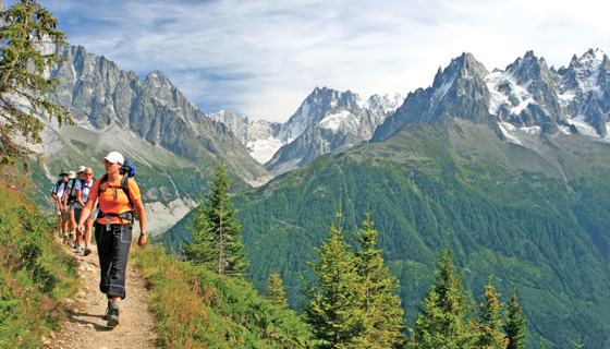 French & Italian Alps Walking & Hiking Tour